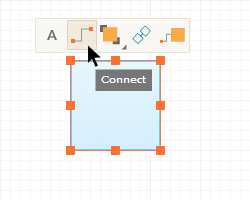 Context Toolbar - Connect Shapes